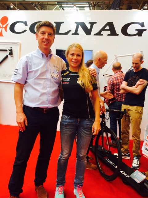 Photo with Peter (Colnago)