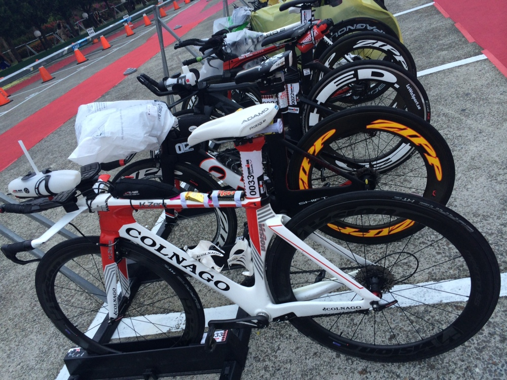 IM Taiwan bike racked